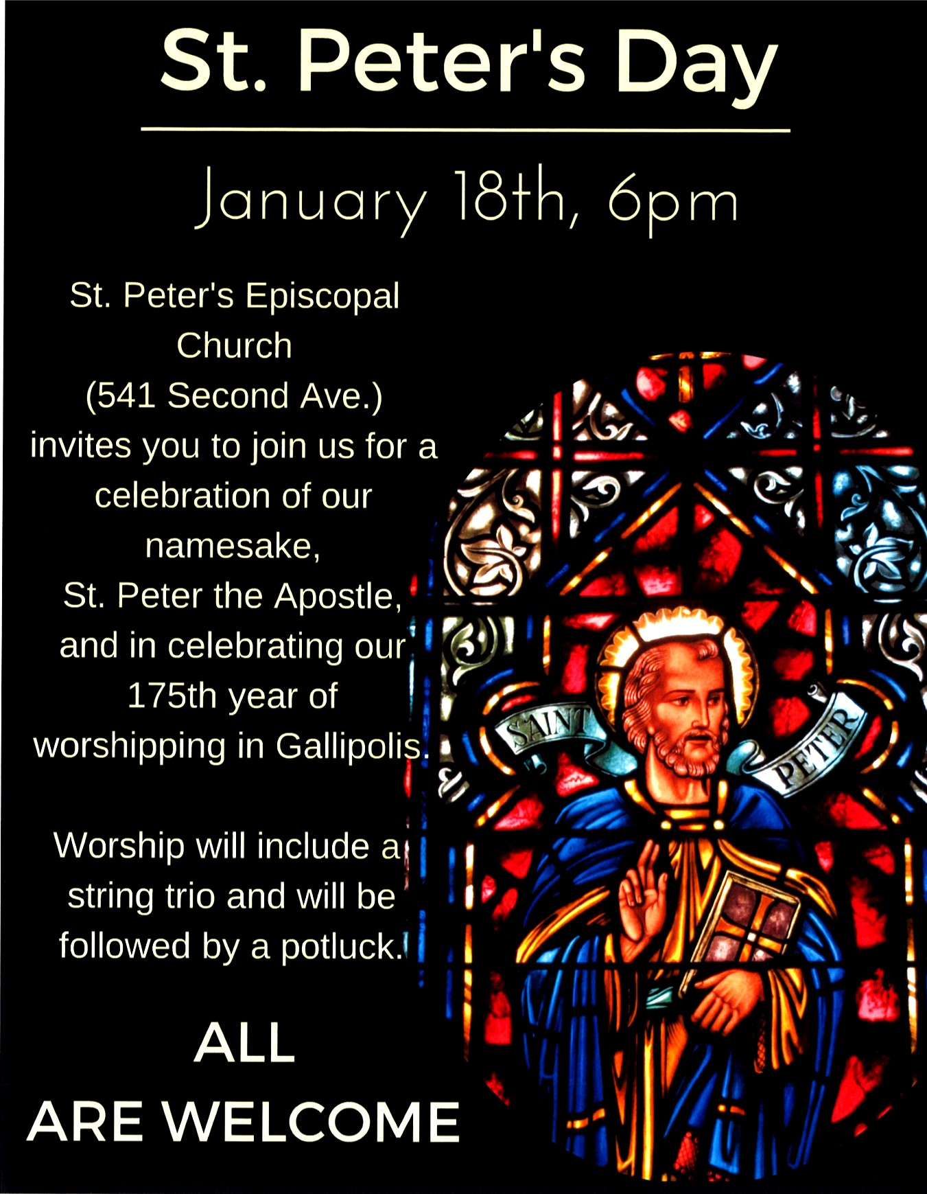 St Peters Day 2016